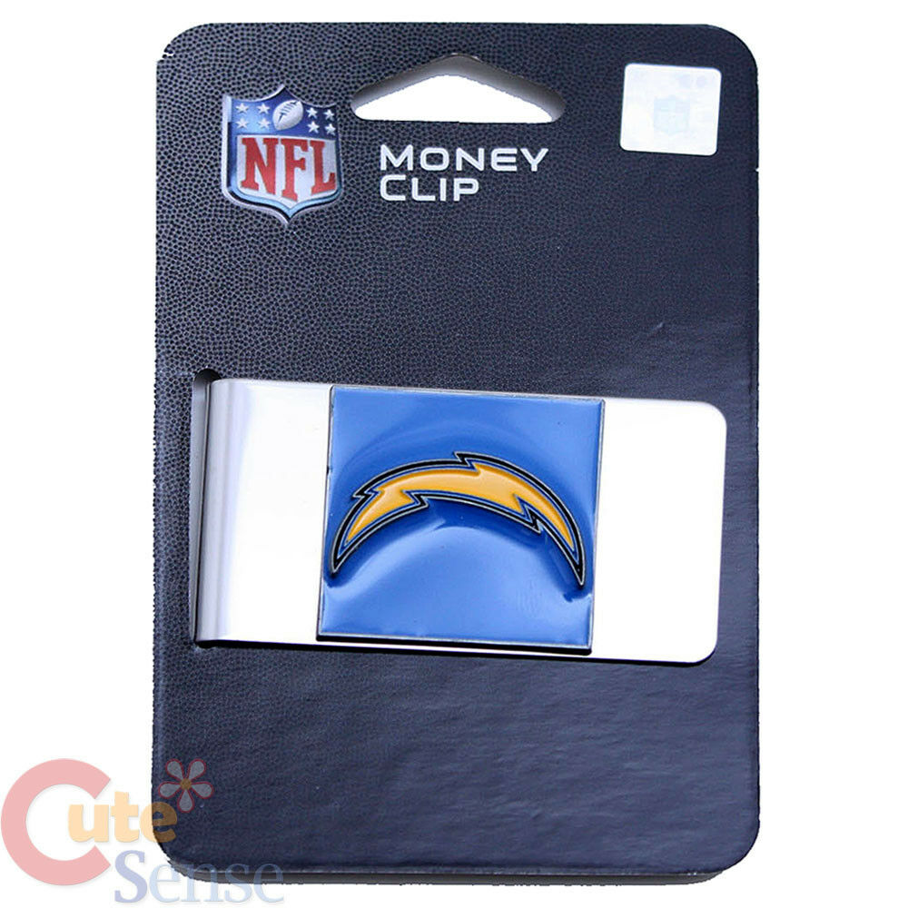 Nfl San Diego Chargers Money Clip Nfl Team Logo Stainless