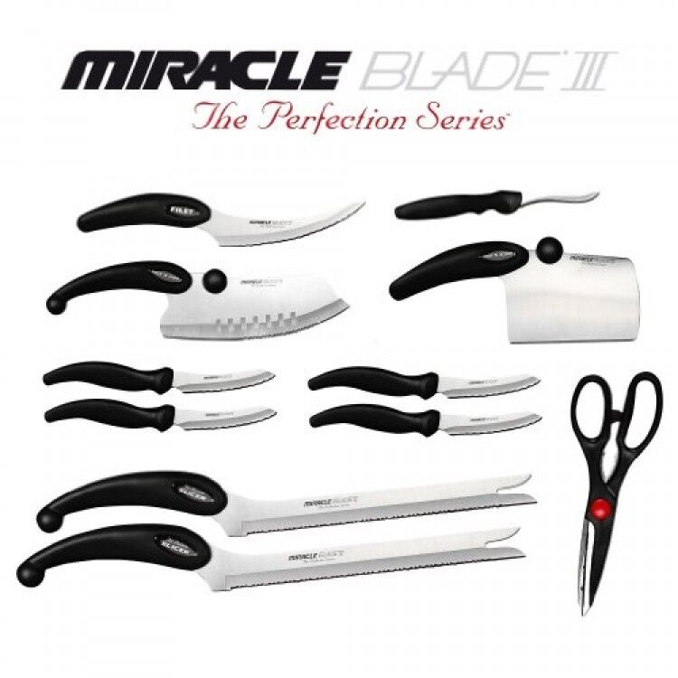 Cutlery Set Miracle Blade Iii 91m3rbxst2 Perfection