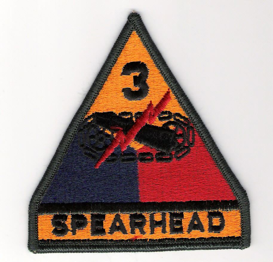 5th Armored Division Patch Division Patches Army