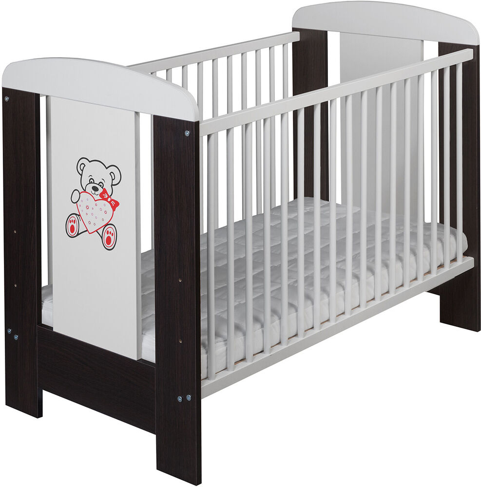 bestforkids gitterbett babybett elija 120x60 bett mit. Black Bedroom Furniture Sets. Home Design Ideas
