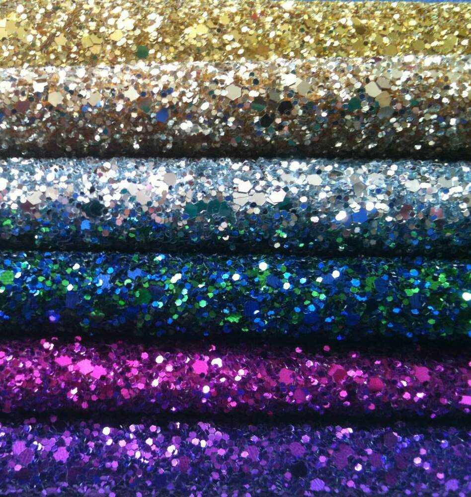 Glitter fabric a4 sheets top quality fabric not card for Sparkly material