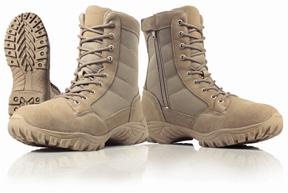 Brand New Wellco T109 Us Army Desert Tan Hot Weather Side