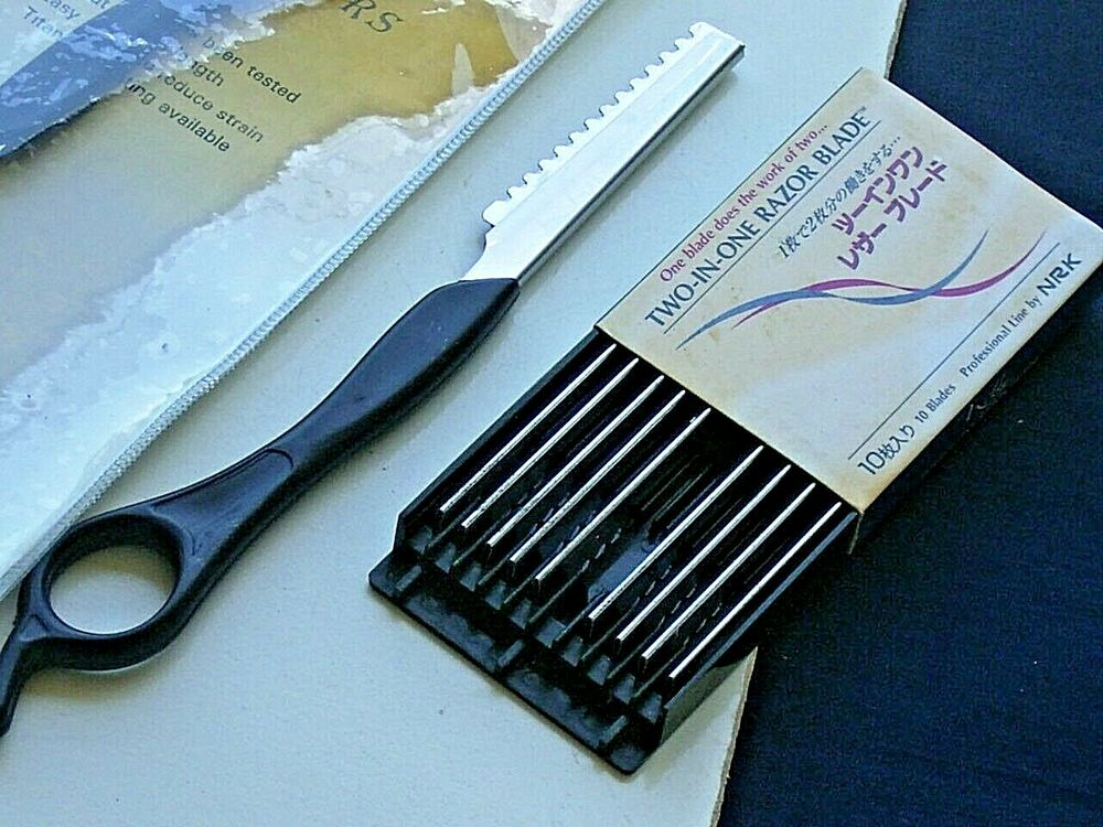 Hair Styling Razor: Hair Razor/Hairdressing Shaper Thinning Comb Styling Razor