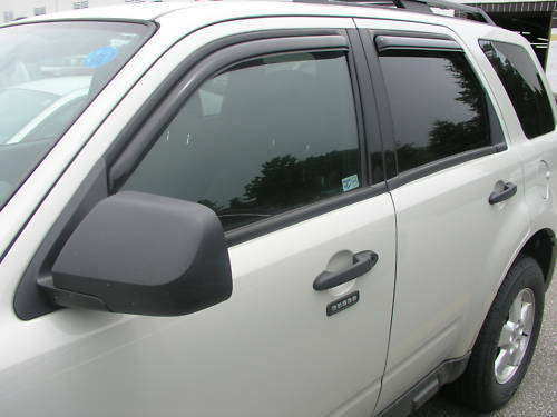 for mazda tribute 194001 in channel window vents visors shades trim 2008 2012 ebay. Black Bedroom Furniture Sets. Home Design Ideas