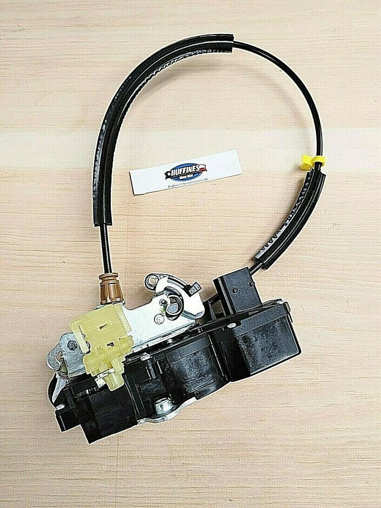O e m lh rear door lock actuator assembly 25876391 08 for 08 tahoe door lock actuator