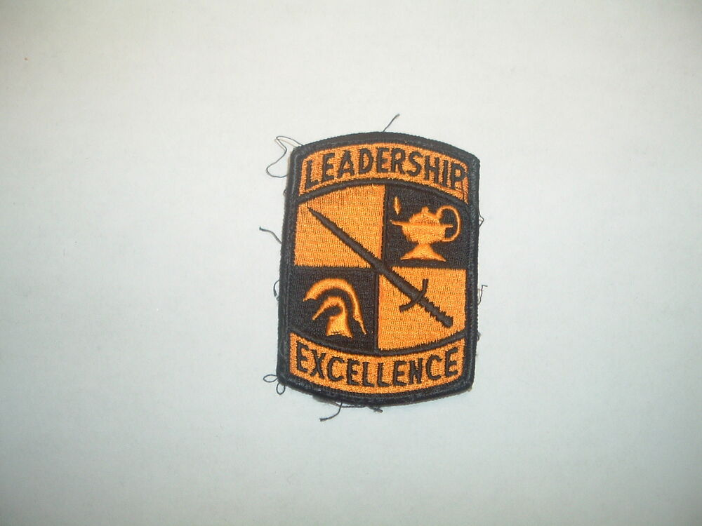 patch 1 leadership Ocp leadership shoulder patch with hook backing s-1 leadership patch.
