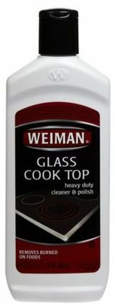 Weiman Glass Cook Top Cleaner Polish Heavy Duty Stove