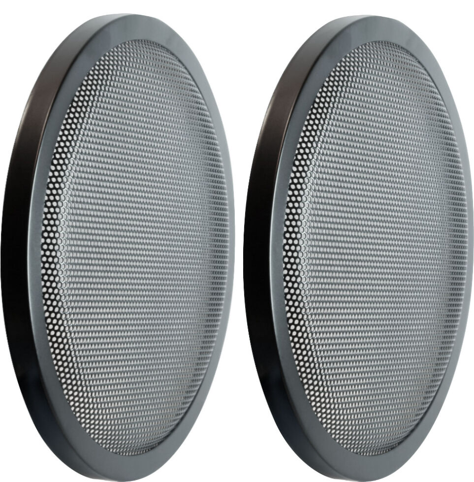 Pair 8 Quot Heavy Duty High Excursion Subwoofer Speaker Classic Grill Grills Cover Ebay