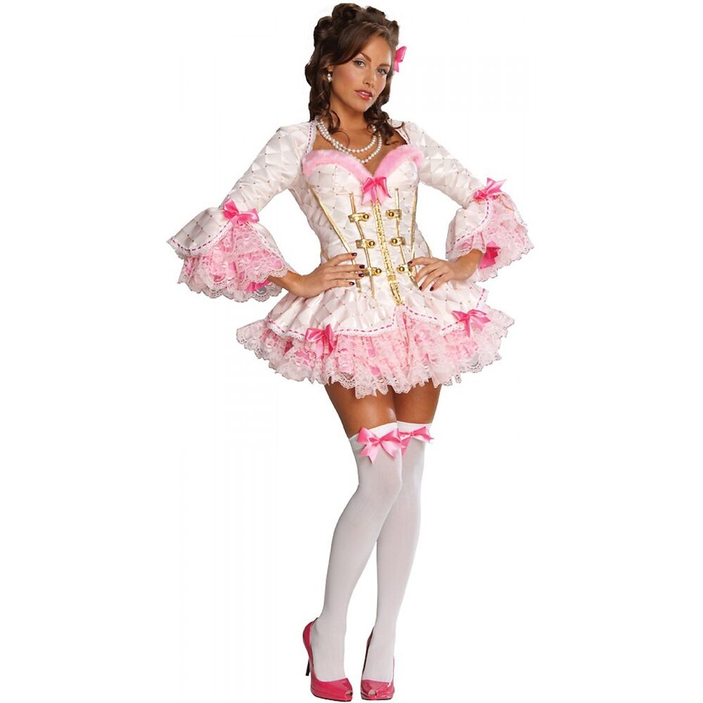 mon ami pink marie antoinette costume halloween fancy dress ebay. Black Bedroom Furniture Sets. Home Design Ideas