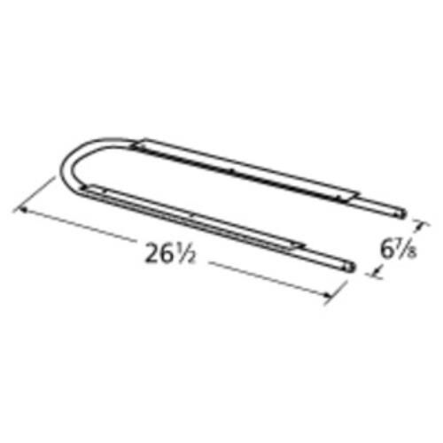 Griddle Replacement Parts : Gas grill replacement stainless steel burner fits