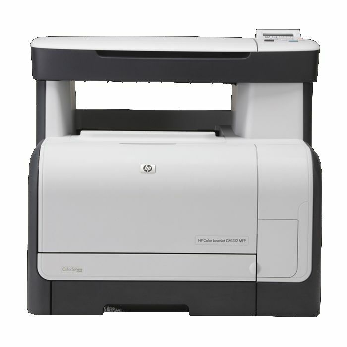 hp color laserjet cm1312 drucker scanner kopierer usb cc430a 883585417681 ebay. Black Bedroom Furniture Sets. Home Design Ideas