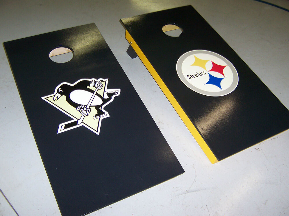 Custom Cornhole Boards Nascar Nfl Ncaa Mc Clubs Etc Corn