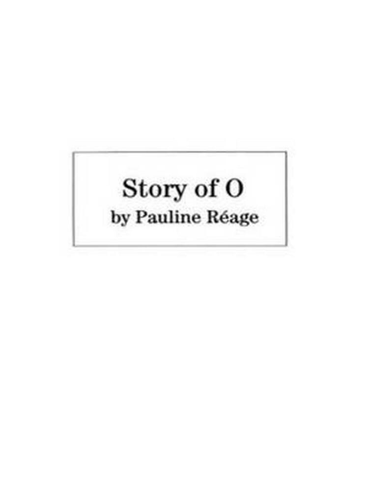Story of o graphic novel