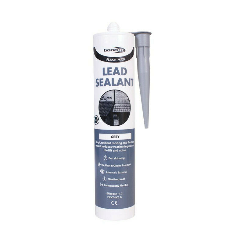 4x Flash Mate Lead Mate Flashing Sealant Roofing Silicone