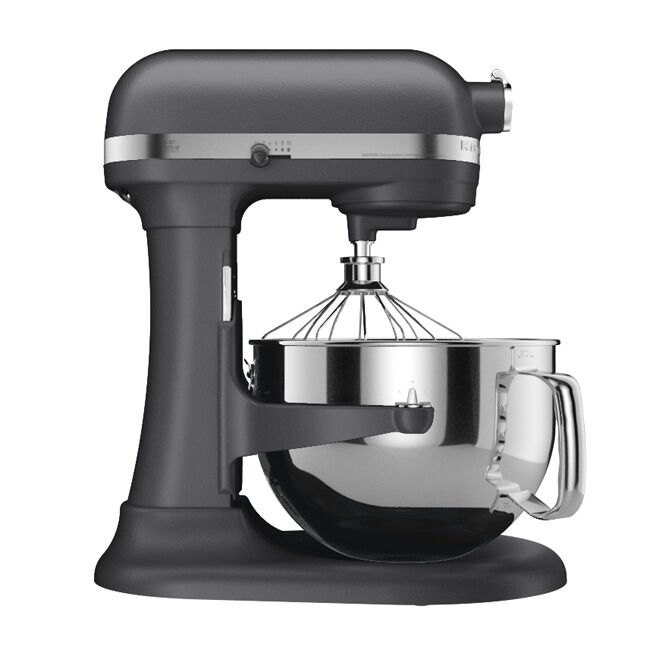 Kitchenaid rkp26m1xdp pro 600 stand mixer 6 qt dark pewter grey super large capc ebay - Copper pearl kitchenaid mixer ...