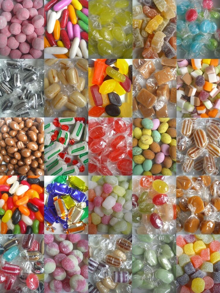 TRADITIONAL SWEETS 150g Bags (Retro/Boiled/Candy ...