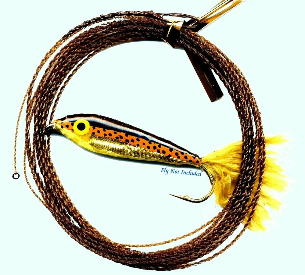 Wonderfurl brown recluse furled fly fishing leader ring for Fly fishing leaders