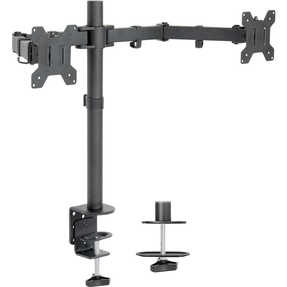 Vivo Dual Monitor Desk Mount Stand Heavy Duty Fully
