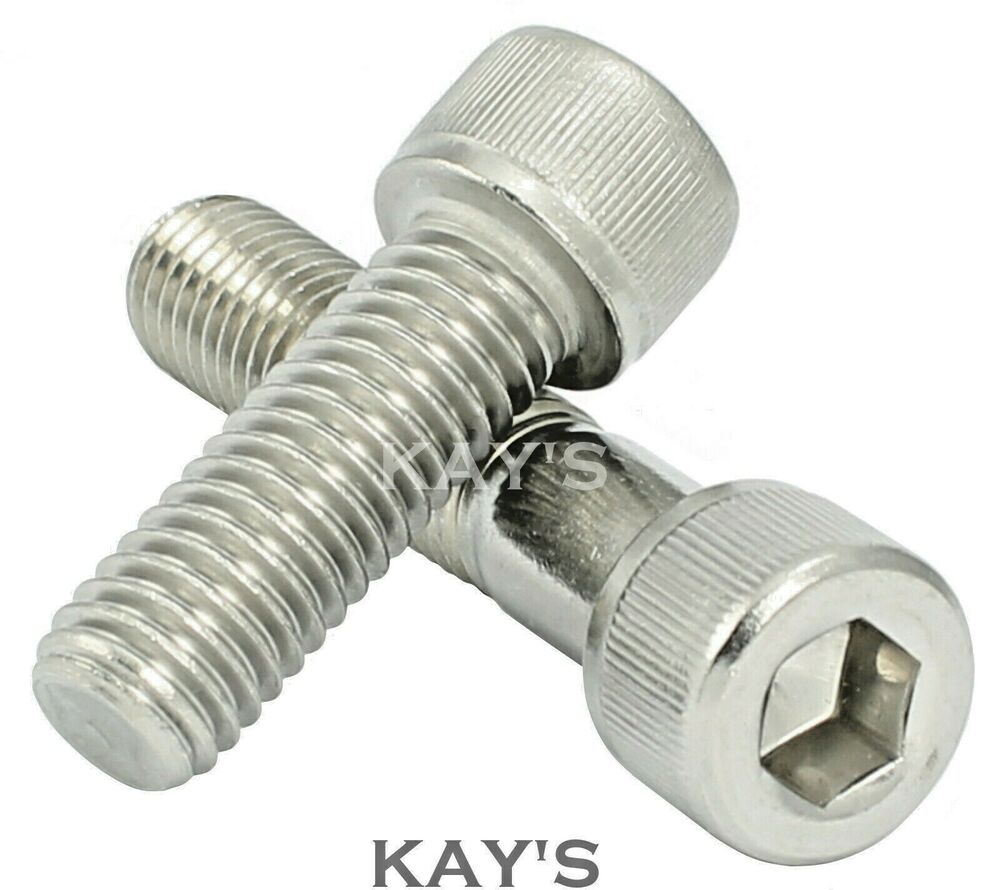 unc cap screws a2 stainless steel allen key bolts 8 10 1 4. Black Bedroom Furniture Sets. Home Design Ideas