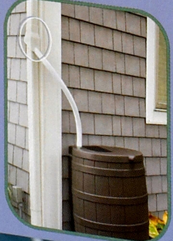 Oatey Downspout Rainwater Diverter For Rain Barrel New Ebay