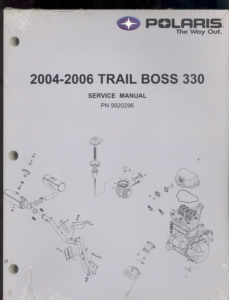 polaris trail boss service manual