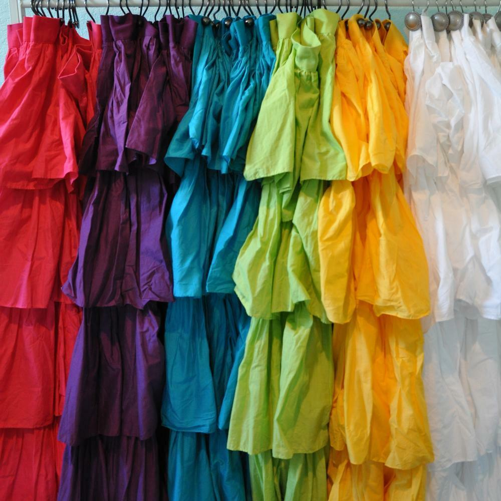 Ruffle Fabric Shower Curtain Assorted Color Ebay