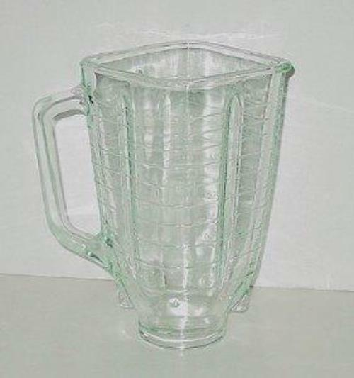 Oster Osterizer Blender 5 Cup Square Glass Jar | eBay