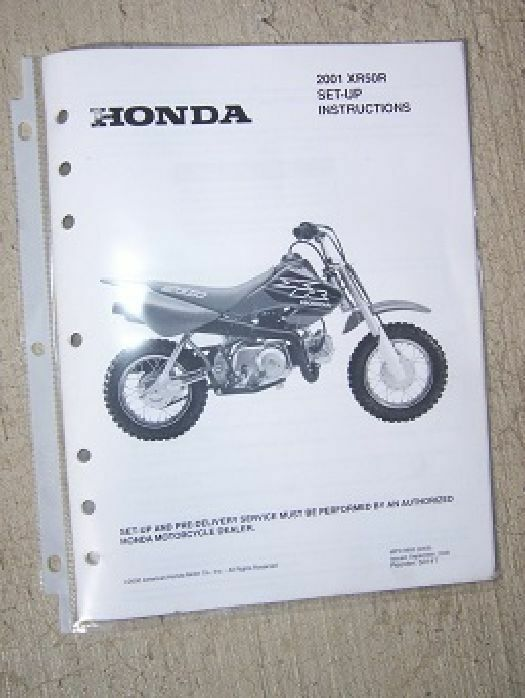 honda xr50r wiring diagram honda crf wiring diagram 2001 honda motorcycle scooter xr50r set up instruction ...