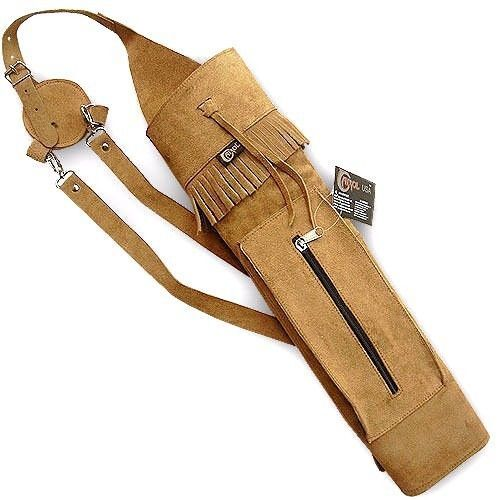 TRADITIONAL LEATHER BACK QUIVER AQ120 | eBay  TRADITIONAL LEA...