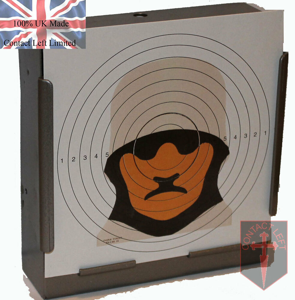 100 Military Figure 14 Sniper Paper Targets 14cm Airsoft