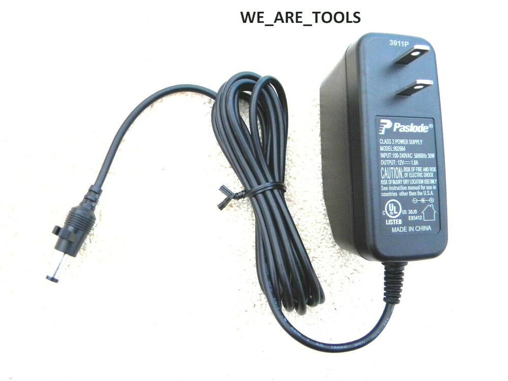 Paslode Charger Adaptor 902664 For 902654 Battery Framing