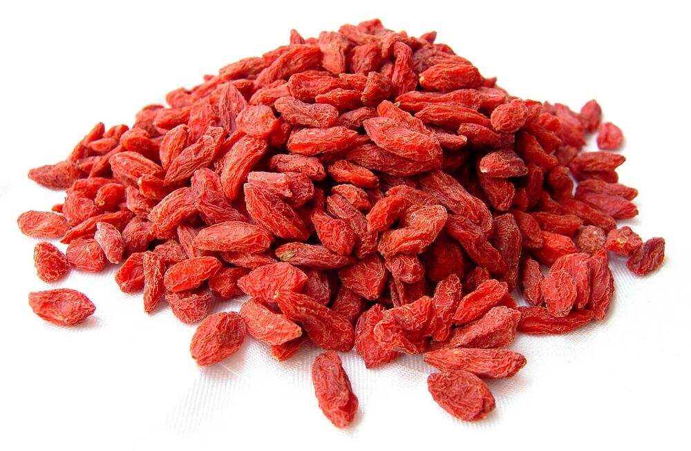 goji beeren natur 500g goji berry ningxia himalaya wolfsbeere power vital frucht ebay. Black Bedroom Furniture Sets. Home Design Ideas