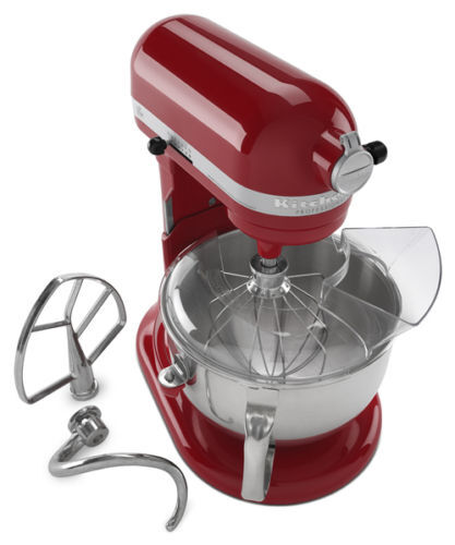 Kitchenaid Rrkp26m1xer Pro 600 Stand Mixer 6 Qt Big Red