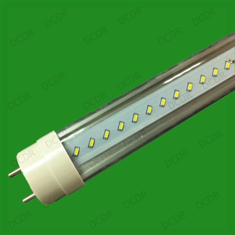 2x 10w T8 Led Tubes 590mm Fluorescent Tube Replacement G13