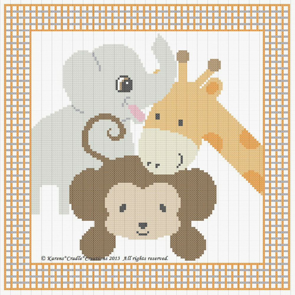 Remarkable image pertaining to baby cross stitch patterns free printable