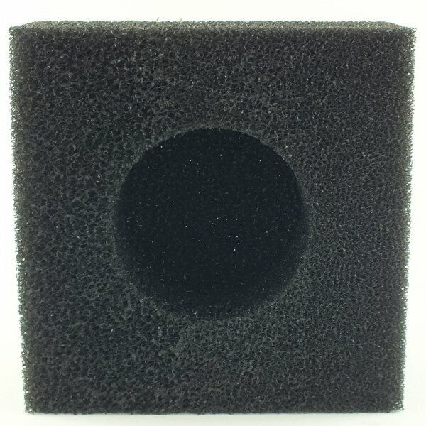Square sump pond pump foam pre filter sponge bertie 39 top for Pond filter foam which way up