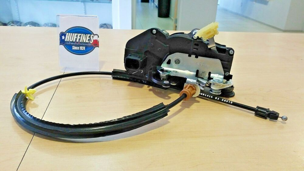 New lh rear door lock actuator 08 09 chevrolet silverado for 08 tahoe door lock actuator