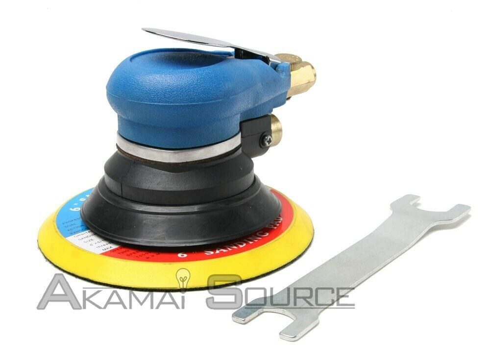 6 air random orbital air palm sander tool automotive body sanding shop tools ebay. Black Bedroom Furniture Sets. Home Design Ideas