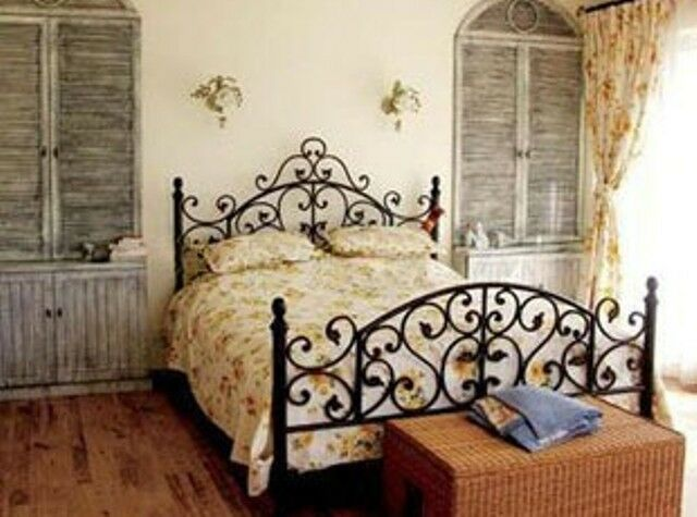 Quality American Country Style Iron Bed Ends Frame