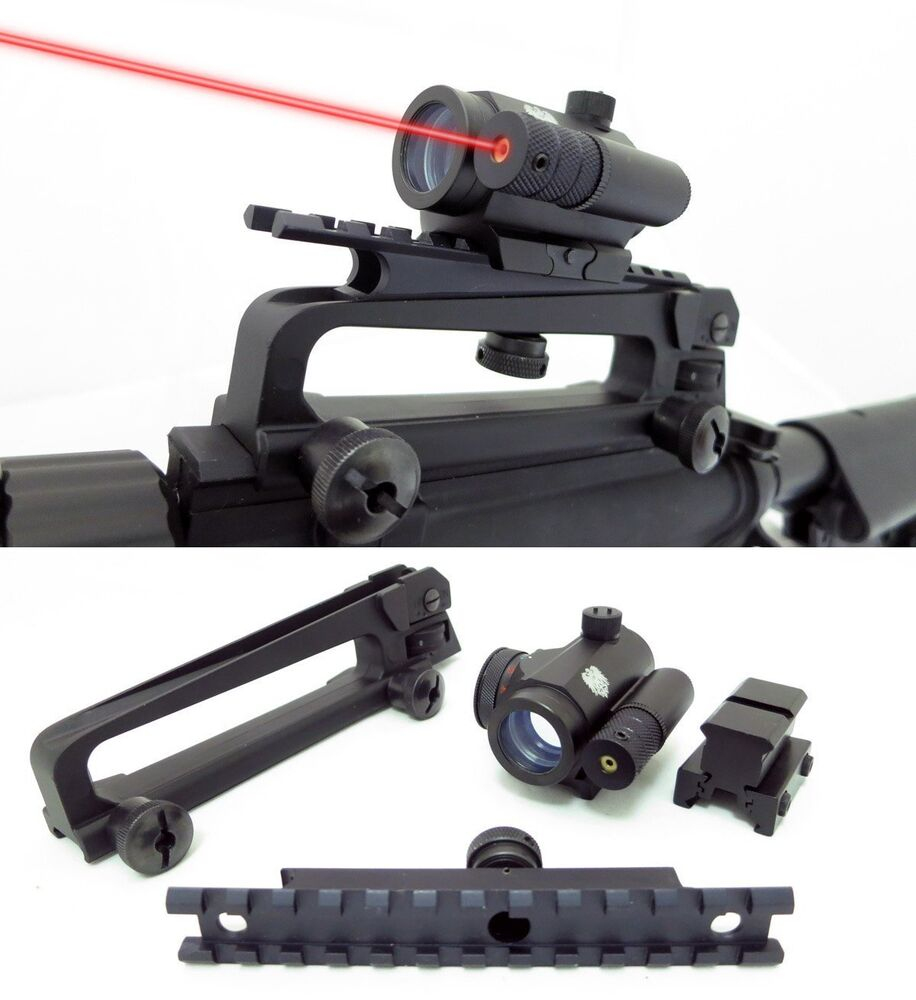 Mini Micro Red Dot Sight Co Witness With Iron Sights