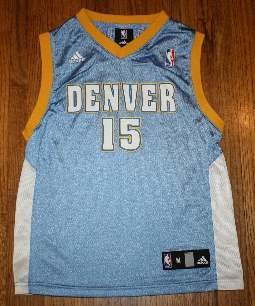 Adidas NBA Denver Nuggets Carmelo Anthony Jersey #15 Youth