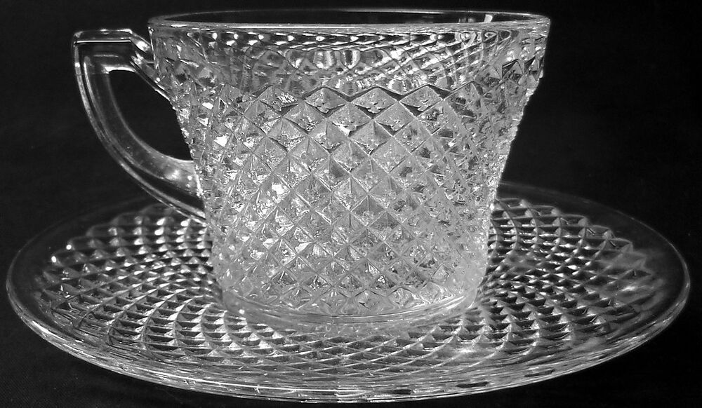 Westmoreland Glass Clear Crystal English Hobnail Pattern ...