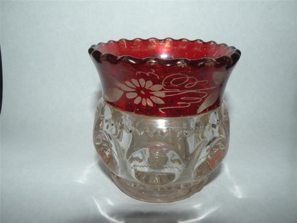 Crown Engraved Glass