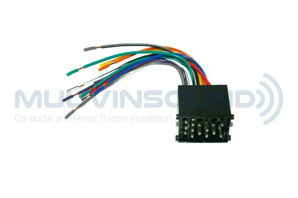 radio wiring harness aftermarket stereo installation wire raptor rap bw 8950 ebay
