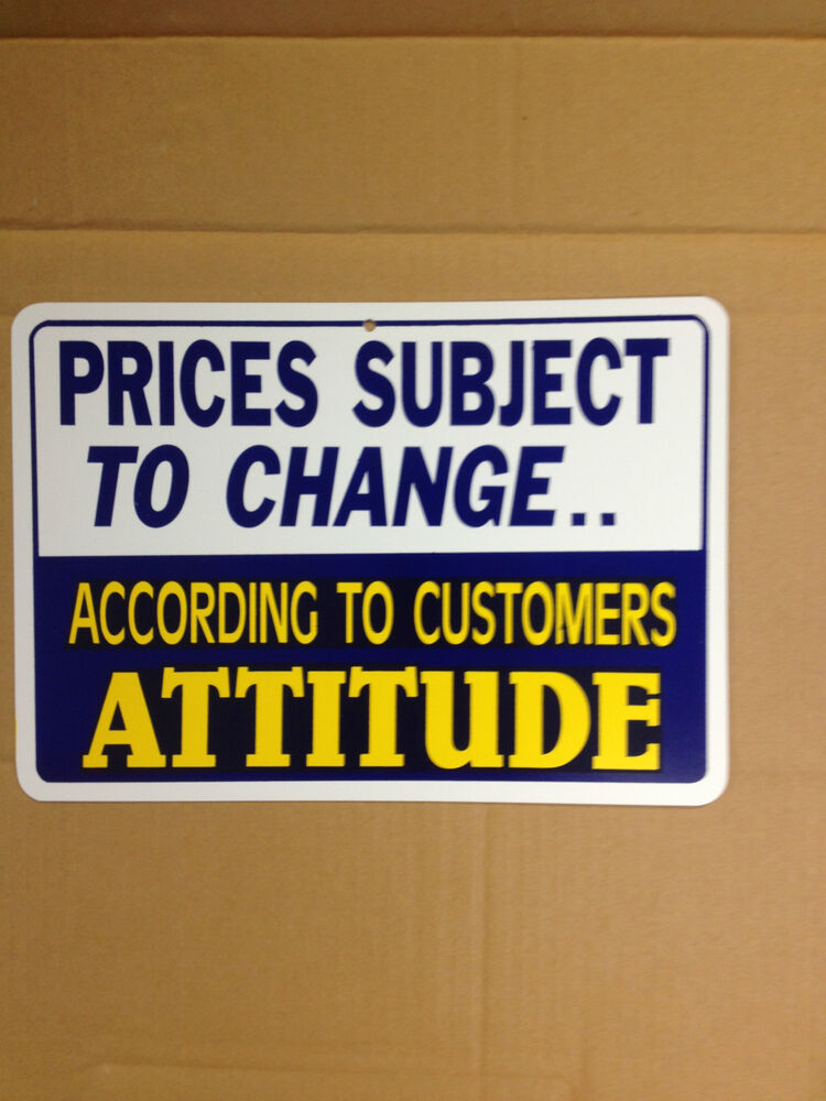 Man Cave Gag Gifts : Prices subject to change funny gift pvc street sign bar