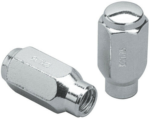 set of 20 chrome 12x1 5 et extended thread closed ended lug nuts 2010