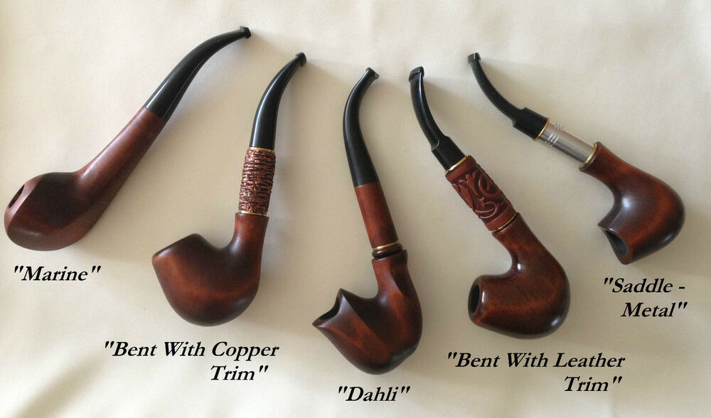 Xxdeluxe Hand Carved Tobacco Smoking Pipe Real Wood 180mm