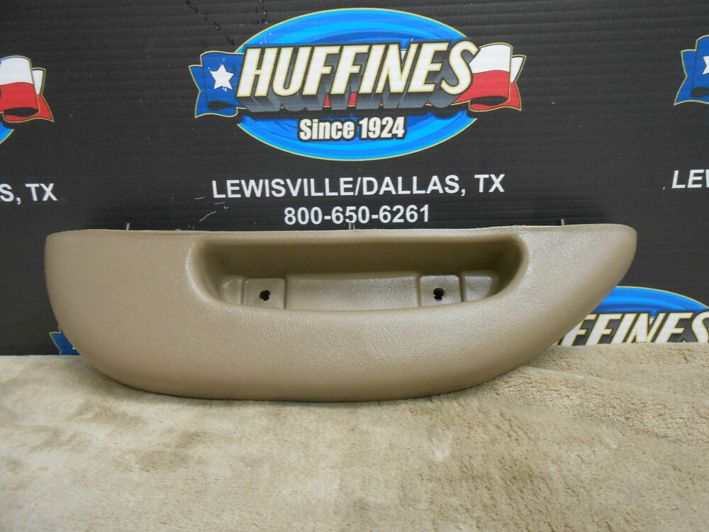 Oem lh door panel armrest tan 96 02 chevrolet express gmc savana 12376621 ebay