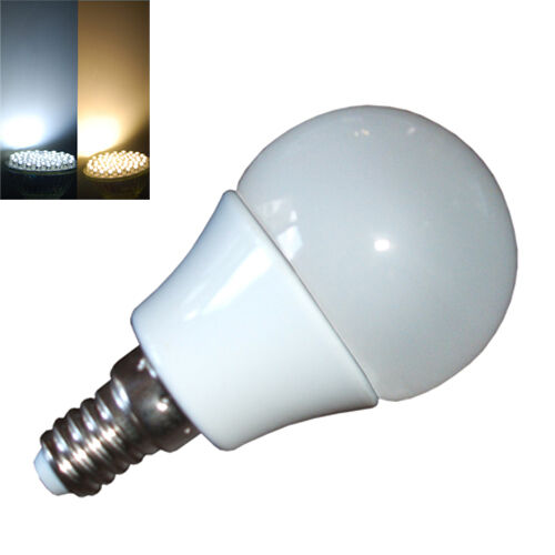 e14 30 led 40w opal golf ball globe bulb ses small edison screw warm cool white ebay. Black Bedroom Furniture Sets. Home Design Ideas