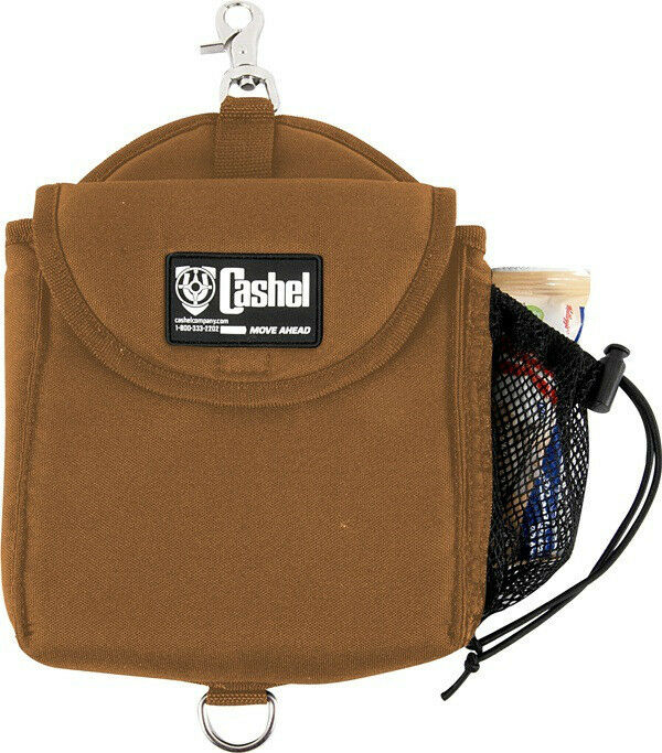 Cashel Insulated Heavy Duty Horn Quality Saddle Bag Brown
